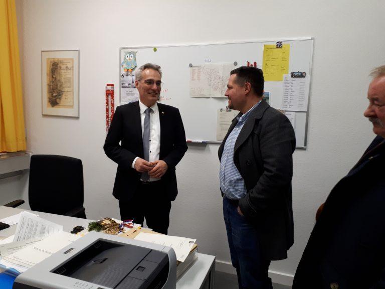 Bei unserem Landtagsabgeordneten Tim Brockmann